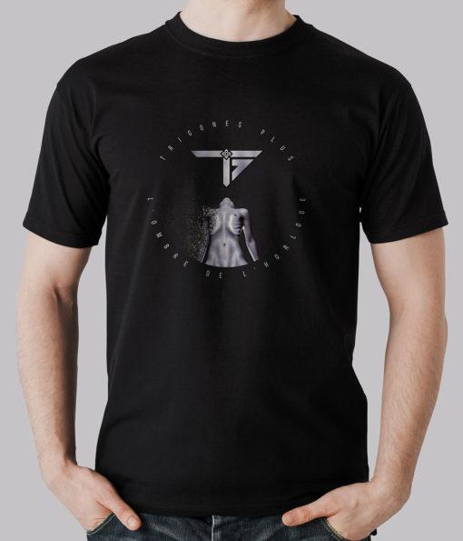 Boutique T-shirt Homme l'Ombre de l'Horloge Trigones Plus Groupe Musique Rock